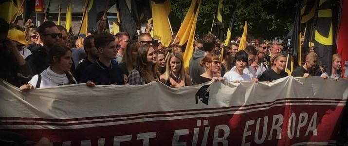 """Zukunft Europa"": 700 Identitäre in Berliner Multikulti-Stadtteil"