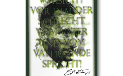 Postkarte Ernst Jünger 2